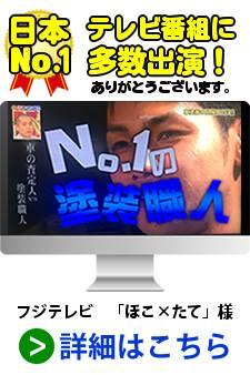 テレビ番組に多数出演!日本ナンバーワンの塗装職人